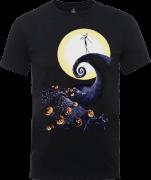 T-Shirt Homme Jack Skellington en Colère - L'Étrange Noël de Monsieur Jack - Gris