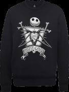 The Nightmare Before Christmas Jack Skellington Misfit Love Black Sweatshirt