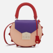 SALAR Women's Mimi Multi Bag - Purple Peach Red