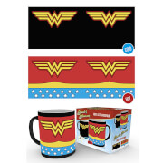 DC Comics Wonder Woman Costume Heat Change Mug