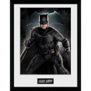 Justice League Batman Solo Framed Photograph 12 x 16 Inch