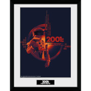 2001: A Space Odyssey Graphic Framed Photograph 12 x 16 Inch