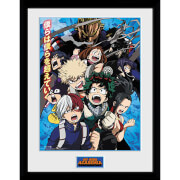 My Hero Academia Season 2 Framed Photograph 12 x 16 Inch