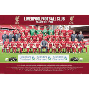 Liverpool Team Photo 17/18 Maxi Poster 61 x 91.5cm