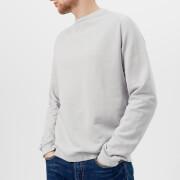 Universal Works Men's Crew Neck Loop Back Jersey Sweatshirt - Grey