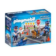 Playmobil int. polizei strassensperre (6924)