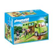 Playmobil : Cavalier avec van et cheval (6928)