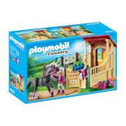 Playmobil : Box avec cavalière et pur-sang Arabe (6934)