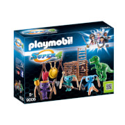 Playmobil Super 4 Alien Warrior with T-Rex Trap (9006)