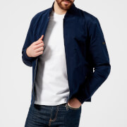 Barbour International Men's Bolt Zip Through Jacket - Blue