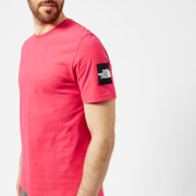 The North Face Men's Short Sleeve Fine 2 T-Shirt - Raspberry Red