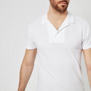 Orlebar Brown Men's Felix Polo Shirt - White