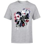 DC Comics Suicide Squad Harleys Puddin T-Shirt - Grey