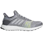 adidas Men's Ultra Boost ST Running Shoes - Grey/Green