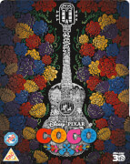 Coco 3D - Zavvi UK Exclusive Limited Edition Steelbook (Inkl. 2D Blu-ray)