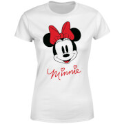 T-Shirt Femme Minnie Mouse Sourire (Disney) - Blanc