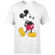 Disney Mickey Mouse Classic Kick Kleur T-shirt - Wit