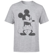 Disney Mickey Mouse Boos T-shirt - Grijs