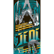 Sérigraphie Star Wars : Les Derniers Jedi par Mark Daniels (30.5 cm x 61 cm) Exclusivité Zavvi UK