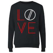 Love Geo Dames trui - Zwart