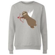 Sloth Cupid Women's Sweatshirt - Grey