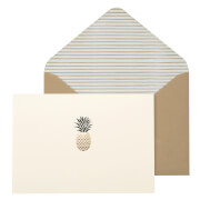 Portico Designs Notecards - Pineapple (Set of 10)