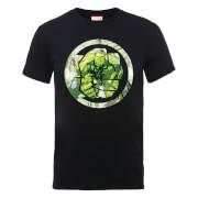Marvel Avengers Assemble Hulk Montage T-Shirt - Black