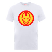 Marvel Avengers Assemble Iron Man T-Shirt - White