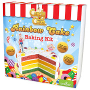 bakedin Candy Crush Rainbow Cake