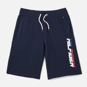 Tommy Hilfiger Boys' Hilfiger Sweat Shorts - Black Iris