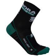 Sportful Bora Hansgrohe Team Race Socks - Black/Green