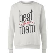 Best Foster Mom Women's Sweatshirt - White
