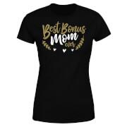 Best Bonus Mom Ever Women's T-Shirt - Black