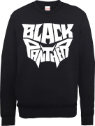 Black Panther Emblem Sweatshirt - Black