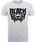 Black Panther Emblem T-Shirt - Grau