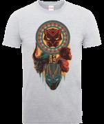 Black Panther Totem T-Shirt - Grau