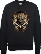 Black Panther Gold Erik Killmonger Trui - Zwart