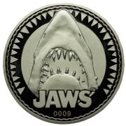 Jaws 'Bigger Boat' Collector's Limited Edition Coin: Silver Variant