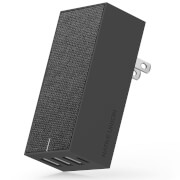 Native Union Smart 4 Port Charge USB Fabric Charger - Slate