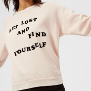 Wildfox Women's Get Lost Sweatshirt - Pink Flesh