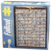 Fallout Perk Poster Jigsaw Puzzle