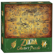 Legend of Zelda Hyrule Map Puzzle