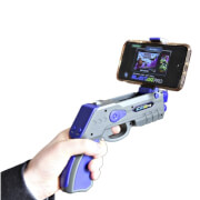 Blast AR Pro Augmented Reality Gun Accessory for iPhone & Android Smartphones (5 free games)