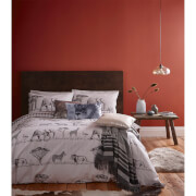 Catherine Lansfield Safari Duvet Set - Grey