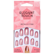 Elegant Touch Colour Nails - Metallic Pink