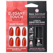 Elegant Touch Nail Saviour - Bright Crimson
