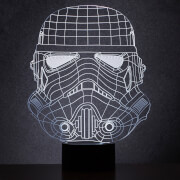 Star Wars Original Stormtrooper Wireframe Light