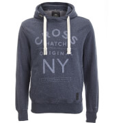 Crosshatch Men's Laramie Hoody - Navy Marl