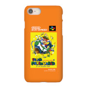Nintendo Super Famicom Super Mario World Phone Case for iPhone