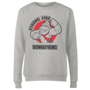 Nintendo Strong Like Donkey Kong Women's Sweatshirt - Grey